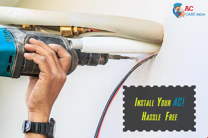 Install Your AC! Hassle-Free