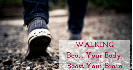 Is walking good for the brain?