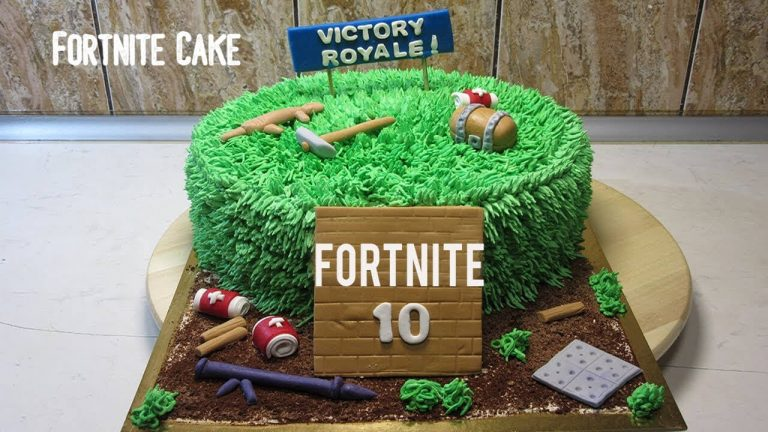Fortnite Cake, Where Do They Found And Their Types