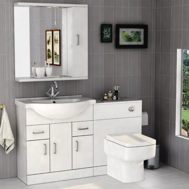 The Story Of Bathroom Furniture Has Just Gone Viral