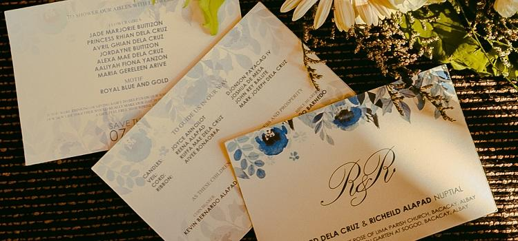 The complete guide to wedding invitations