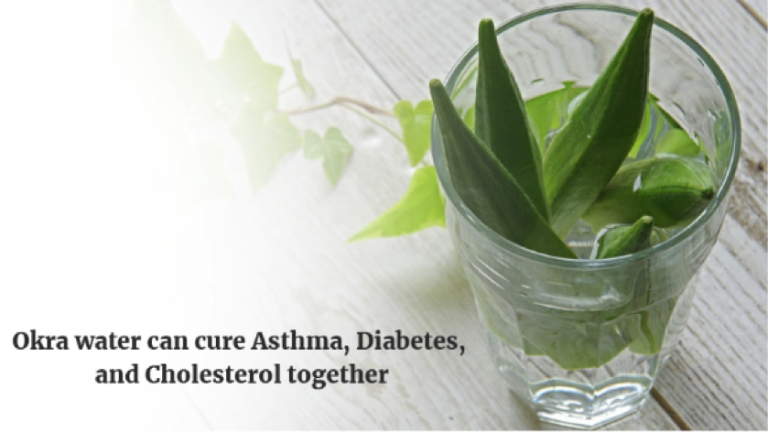 Okra water can cure Asthma, Diabetes, and Cholesterol together