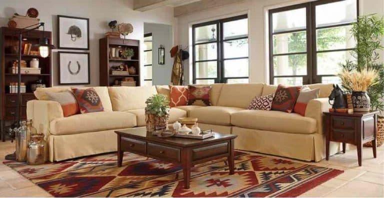 Tips on how to arrange cushions on a corner sofa